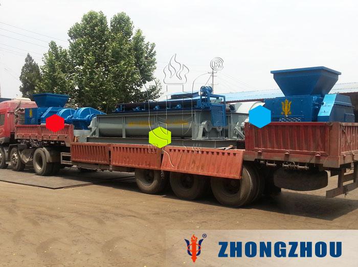 两台时产20吨bob最新客户端生产线发货